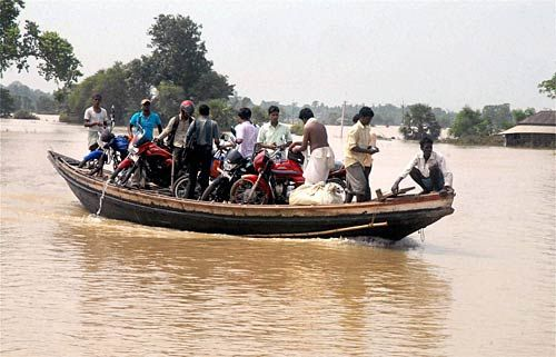 Flood hit West Midnapore