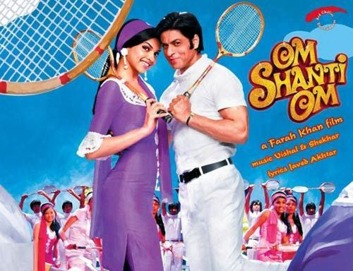 Deepika Padukone and Shah Rukh Khan in a still from Om Shanti Om