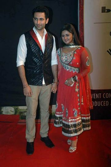 Rashmi Desai and Nandish Sandhu