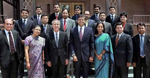 Richard C Levin, Sachin Pilot, Manish Tiwari, Rajiv Pratap Rudy, Baijayant Panda, Supriya Sule, Meera Shankar