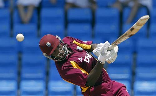 West Indies batsman Andre Russell
