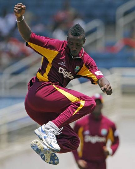 West Indies paceman Andre Russell