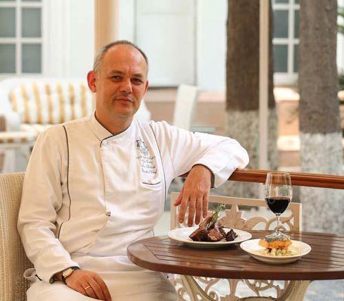 Jan Seibold, the executive chef at San Gimignano.
