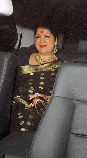 Sunanda at shilpa's birthday bash