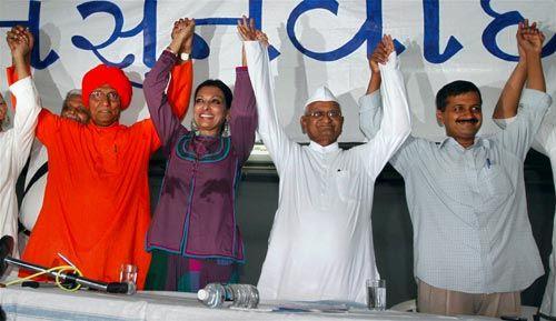 Anna Hazare, Swami Agnivesh