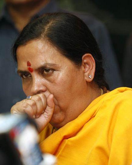 Uma Bharti returns to BJP after 6 yrs