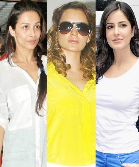 Kangana Ranaut, Malaika Arora Khan and Katrina Kaif