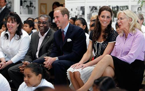 Danielle Alexandra, Seyi Obakin and Price William and KAte