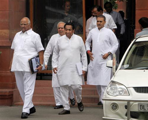 Cabinet meeting on Lokpal Bill