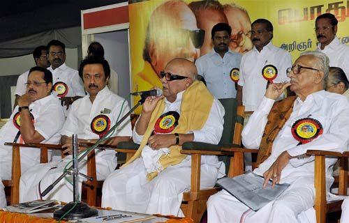 Stalin, M Karunanidhi,