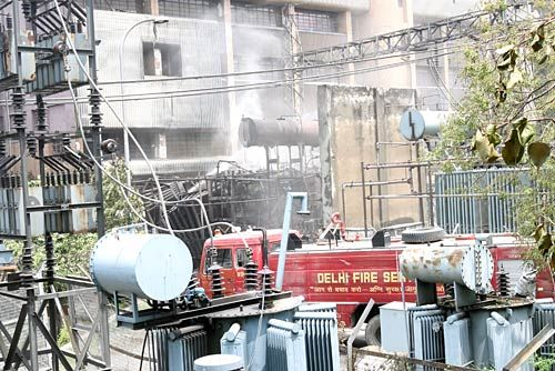 Fire breaks out at Rajghat thermal power station in Delhi