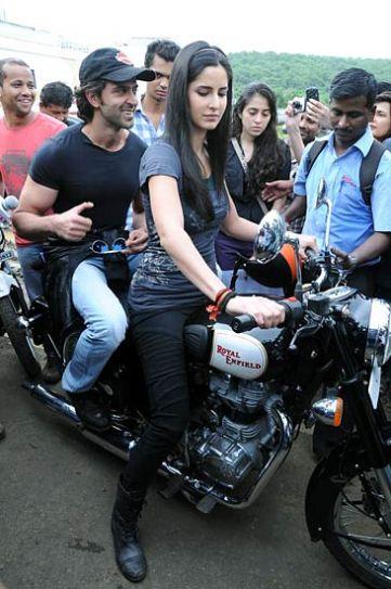 Katrina Kaif and Hrithik Roshan