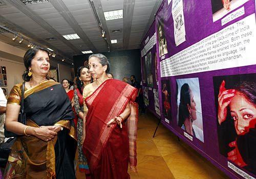 Nirupama Rao and Leela Samson