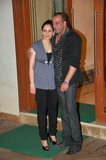Sanjay Dutt and Manayata