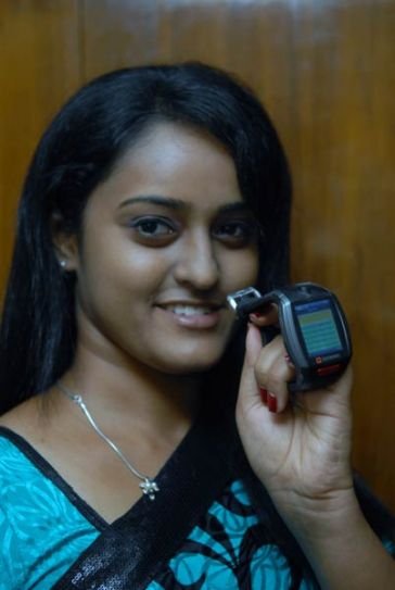 India's first wrist mobile phone