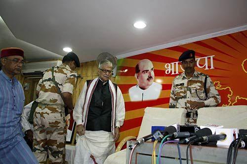 BJP leader Murli Manohar Joshi in Bhopal