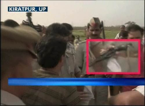 Armed youth tries to get close to Rahul Gandhi