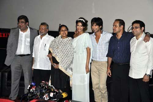 Sonam Kapoor, Shahid Kapoor, Pankaj Kapoor and Supriya Pathak