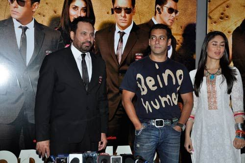 Shera, Salman Khan and Kareena Kapoor