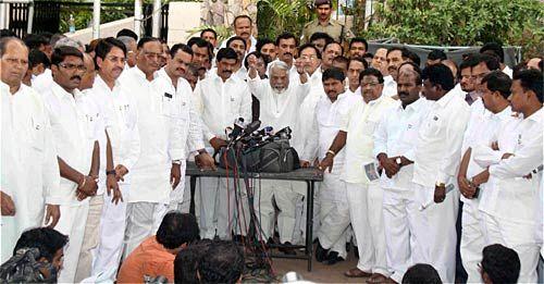 Congress MPs from Telangana