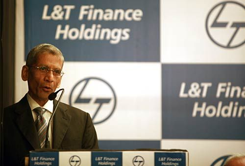 Y. M. Deosthalee, Chairman, L & T Finanace Holding