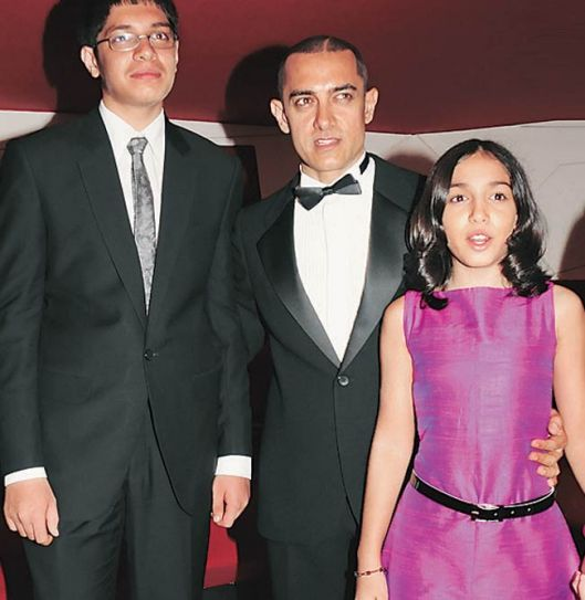 Aamir Khan with daughter Ira