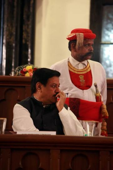 Maharashtra Chief Minister Prithviraj at the Bombay High Court central hall in Mumbai