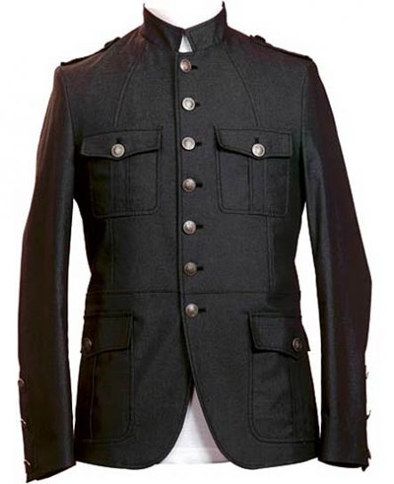 Giovani buttoned jacket for men, Rs 7,999