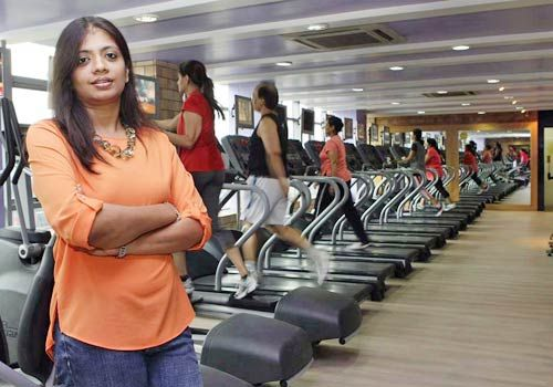 Director Divya Himatsingka at Golds Gym