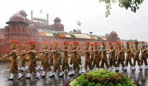 Parade at Red Fort