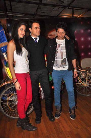 Katrina Kaif, Imran Khan and Ali Zafar