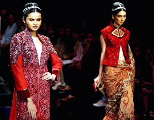 Models at Lakme Fashion Week