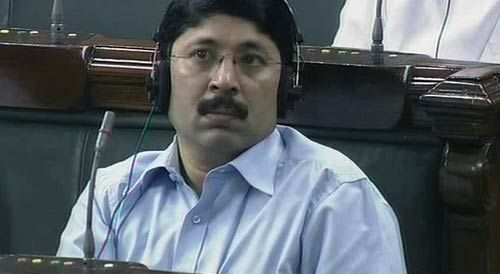 Dayanidhi Maran in Lok Sabha