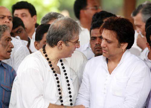 Adityaraj Kapoor with Govinda