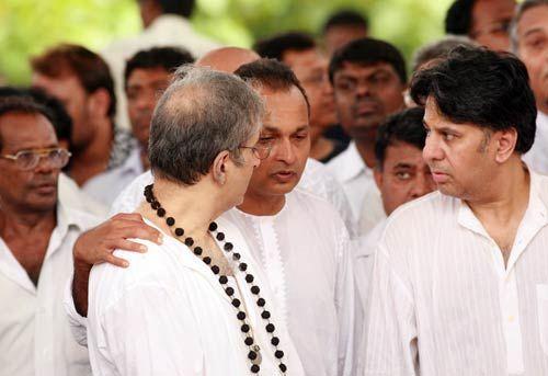 Anil Ambani with Adityaraj Kapoor