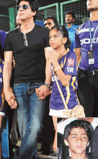 SRK with daughter Suhana Khan