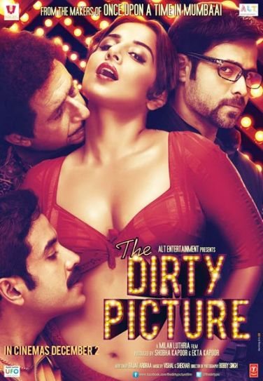 Vidya Balan in a still from The Dirty Picture.