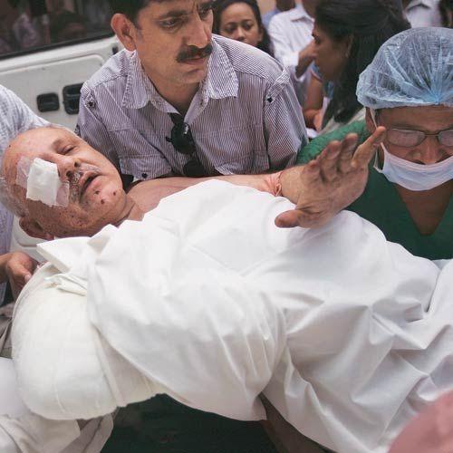 Delhi HC blast victim