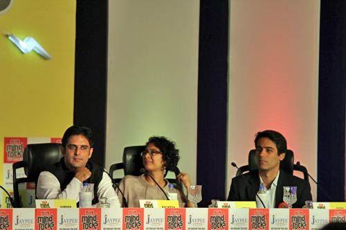 Kalikesh Deo, Kiran Rao and Divya Narendra
