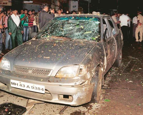 Blasts at Zaveri Bazaar, Dadar and Opera House in Mumbai
