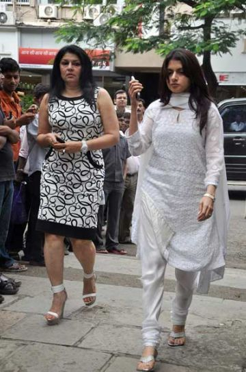 Bhagyashree and Kiran Juneja