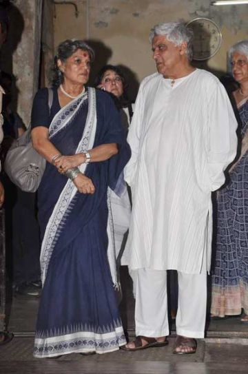 Dolly Thakore and Javed Akhtar