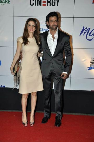 Hrithik and Suzzane