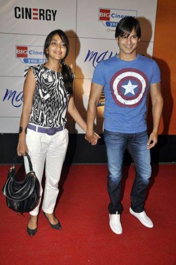 Priyanka and Vivek Oberoi