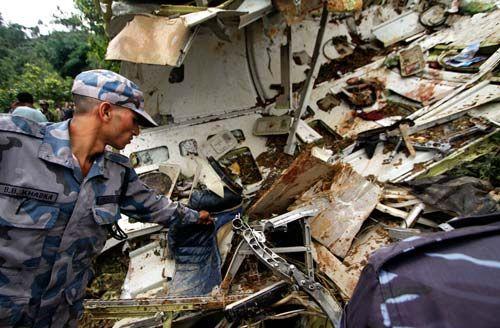 Plane crash in Nepal