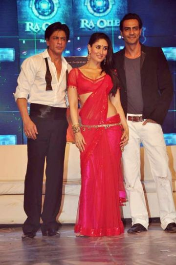 Shah Rukh Khan, Kareena Kapoor and Arjun Rampal