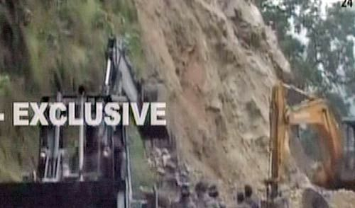 Earthquake in Sikkim