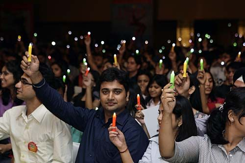 Youth at India Today Youth Summit 2011