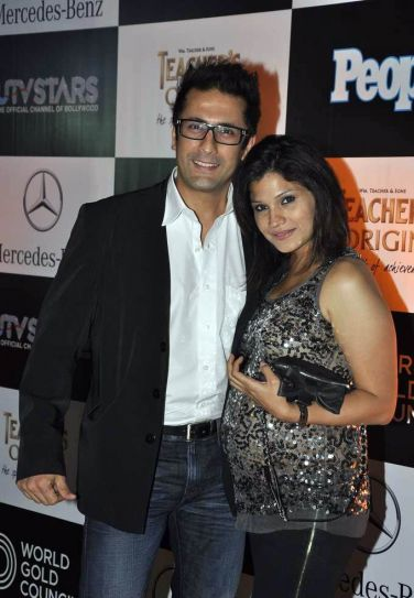 Jai Kalra with wife
