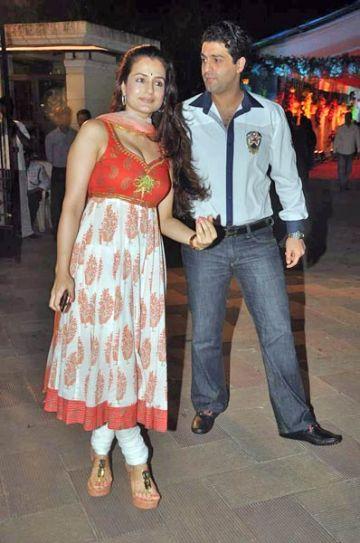 Amisha Patel and Kanav Puri